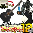 Aria Dreadnought AF-201 -Auditorium- BLK(ブラック)【オリジナル12点セット】(アリアドレッドノート)/AF201/アコースティックギター アリア ドレッドノート【送料無料】【smtb-KD】【RCP】:-p2