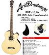 Aria Dreadnought AB-295 NAT(ナチュラル) −エレクトリック アコースティックベース− (アリアドレッドノート)/AB295/Electric Acoustic Bass アコベ アリア ドレッドノート【送料無料】【smtb-KD】【RCP】:-p5