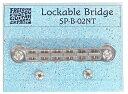 FREEDOM Lockable Bridge SP-B-02NT NIT/チタンサドル・ニッケル/ギター用ブリッジ【送料無料】【smtb-KD】【RCP】