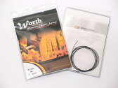 Worth Strings(ワース・ストリングス) ウクレレ弦セット「BL×1セット」 ブラウンフロロカーボン/ライトゲージ 【送料無料】【smtb-KD】【RCP】