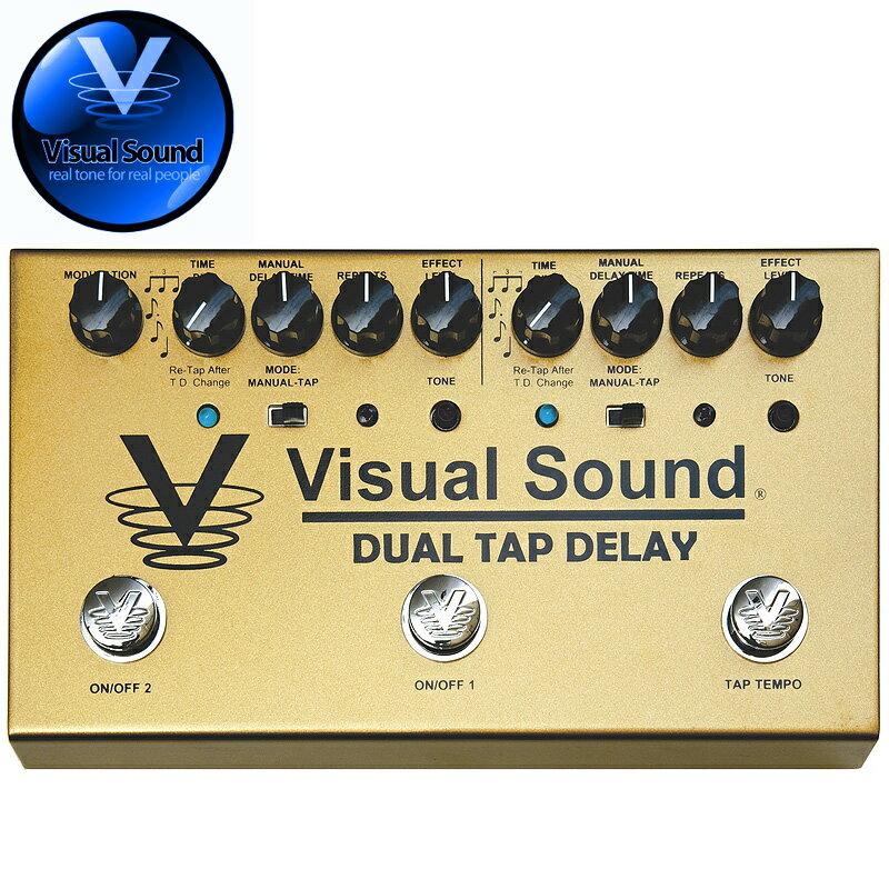 (正規輸入品で安心!)VISUAL SOUND DUAL TAP DELAY V3 SERIES/ デュアルタップディレイ 【送料無料】【smtb-KD】【RCP】:-as-p2