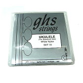 ghs strings(ガス) 「10 Clear Nylon×1セット」 ウクレレ弦/Standard Ukulele 【送料無料】【smtb-KD】【RCP】:-1