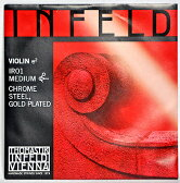 Thomastik INFELD RED バイオリン弦【4/4用】 E線 IR01 金メッキ/クロムスチール×1本【送料無料】【smtb-KD】【RCP】:-p2