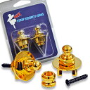 Pac'n(パックン)PSL7G:ゴールド/ストラップロックピンPSL-7G (Gold) 【送料無料】【smtb-KD】【RCP】:-p5