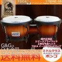 TOCA(е╚ел)бб2700NE-SBббе▄еєе┤ббSunburst/е╡еєе╨б╝е╣е╚ббеже├е╔бб7едеєе┴& 8 1/2едеєе┴ббPlayerб╟s Series Bongosб┌┴ў╬┴╠╡╬┴б█б┌smtb-KDб█б┌RCPб█