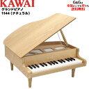 【予約受付中!】【レビューを書いてダブル特典GET!】KAWAI(河合楽器製作所)グランドピアノ(木目調)タイプのカワイのミニピアノ32鍵(木..