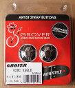 【クールなストラップピン】 GROVER グローバー 620C EAGLE (Chrome) 【送料無料】【smtb-KD】【RCP】:76643-p2