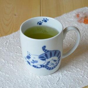 猫マグカップ (まんまる猫)有田焼 ネコ 猫グッズ02P06Aug16有田焼 波佐見焼 生活便利食器