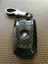 ハード&ソフト キーケース キーカバー BMW Key Case Key Cover (ブラック&カーボン柄)F20 F30 F10