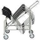 スタッキングチェア専用台車 アイリスオ−ヤマ【LTS-40 】スタッキング椅子台車 (代引決済不可商品)