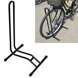 【送料無料】ガレージ・ゼロ 自転車スタンド 停め置きL字型[ブラック] /駐輪スタンド*送料無料(北海道・沖縄・離島は除く)