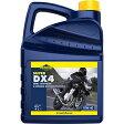 Putoline バイク用 4サイクルエンジンオイル 4L [SUPER DX4/スーパーDX4] 10W-40 SG(MA) セミ合成油/部分合成油