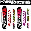 15-16 NOVEMBER/ノベンバー ARTISTE アーティスト メンズ レディース 157cm スノーボード 板