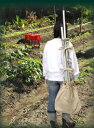 金象印マイフィット土農具収納肩掛けバッグ