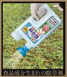 アースガーデン ジョウロヘッドでそのまま散布【みんなにやさしい除草剤 おうちの草コロリ】 2L
