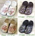 Flower Print Sandals ガーデンサンダル【MR2325�】