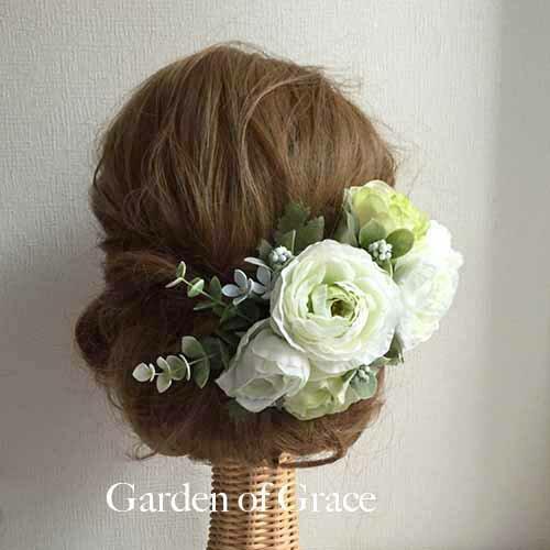 c2531065b67d6 パーティー .髪飾り ガーデンシリーズフレッシュラナン  当店オリジナルデザインのヘッドドレス☆ウエディングドレス・二次会ドレス・パーティードレスに最適