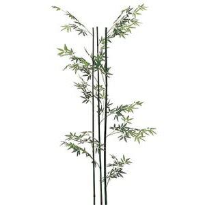 人工樹木 青竹(3本立)H1800【屋内用】【人工植物】【室内庭園】【インテリア】【グリーンアイテム】【】【メーカー直送】 手入不要の人工樹木!室内庭園やインテリアのワンポイントに
