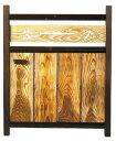 板欄間入庭木戸W750×1200