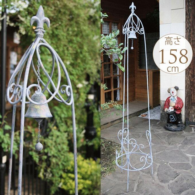 アイアンオベリスクタワーベルL型アイアントレリスガーデニングフェンスフラワーエクステリアガーデン装飾