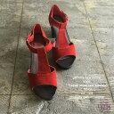 ショッピングウッド 【vialis】【T-strap wood heel sandals】レザーサンダル スウェードサンダル スエード ビアリス ヴィアリス 7.5cmヒール チャンキーヒールサンダル サボサンダル カジュアル フェミニン スペイン 送料無料