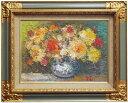 渡部ひでき『薔薇』油絵・油彩画 F4(4号)