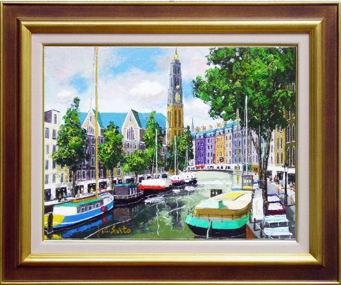 アムステルダムの運河の画像 p1_32