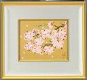 中島千波四季の花がたり 春 『さくら』(特装版)彩美版・シルクスクリーン手摺り