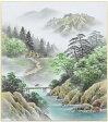 上田邦彦『彩色山水』色紙絵