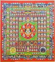 『胎蔵界曼荼羅』複製画色紙(アートプリント)