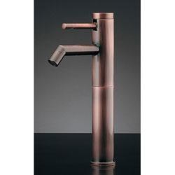 *KAKUDAI*716-225-13 水栓金具 シングルレバー立水栓 トールタイプ