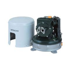*日立*CT-P150W 浅深両用自動ポンプ 150W[単相100V]【送料無料】 吸上高さ6mまでの浅井戸に、配管を代えて6mを超える深井戸用に。