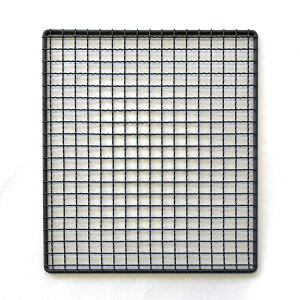 ezBBQ 焼き網300x350 ニトロプラス仕上げ 新越ワークス [日本製][ezbbq-grid30x35-n]