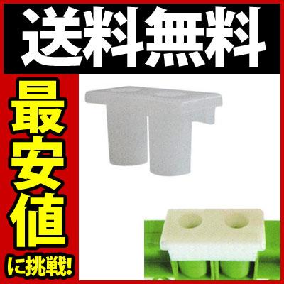 送料無料(100個セット)プラスチックフェンス/連結用ジョイント(乳白色)
