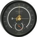 【送料無料】アネロイド気圧計 一般観測型 ブラック OZ-11-BL