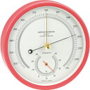 【送料無料】アネロイド気圧計 一般観測型 ピンク OZ-11-PI
