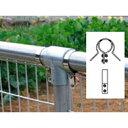 単管金網取付金具 FIT-FK(5個セット) ジョイント工業 ステンレス製