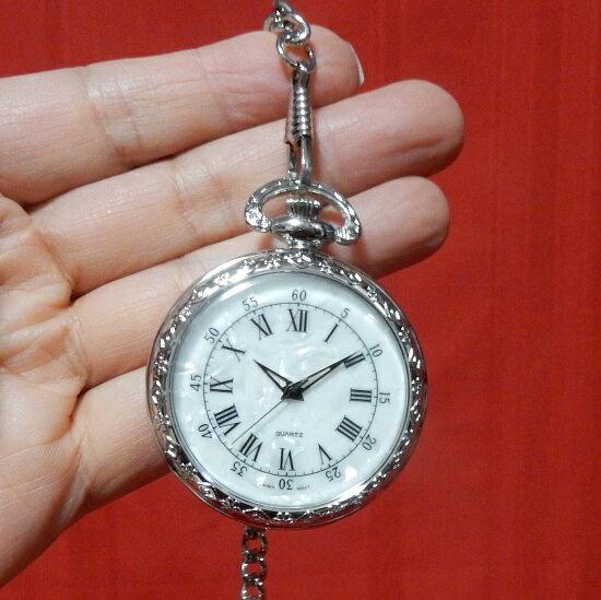 懐中時計 ポケットウォッチ ローマ数字 直径約48mm