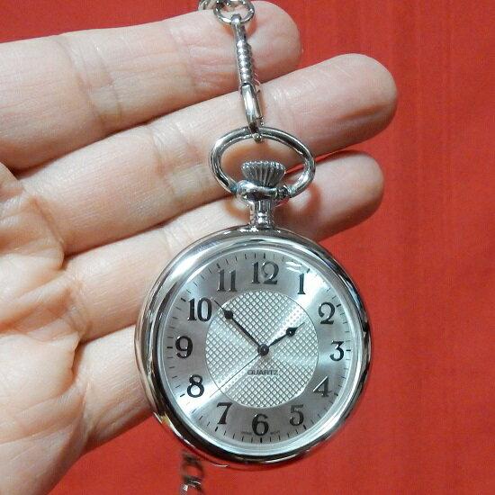 懐中時計 ポケットウォッチ アラビア数字 直径約48mm