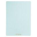 ソフト下敷き 硬筆用 無地【B5サイズ】NO.602 薄グリーン - メール便対象