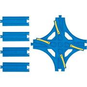 【メール便対象】プラレール 部品 R-14 交差ポイントレール 追加 レール 線路