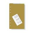 【メール便対象】ダ・ヴィンチ システム手帳 リフィル バイブルサイズ カラーインデックス(4区分) DR329