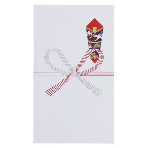 壽堂紙製品 祝袋 花結 上質紙特厚口 10枚袋入 06061(NO.61)【メール便不可】