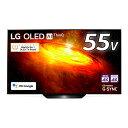 【6/20はエントリー&楽天カード決済でポイント7倍】LG 55型 有機EL テレビ Alexa搭載 4Kチューナー内蔵 OLED55BXPJA