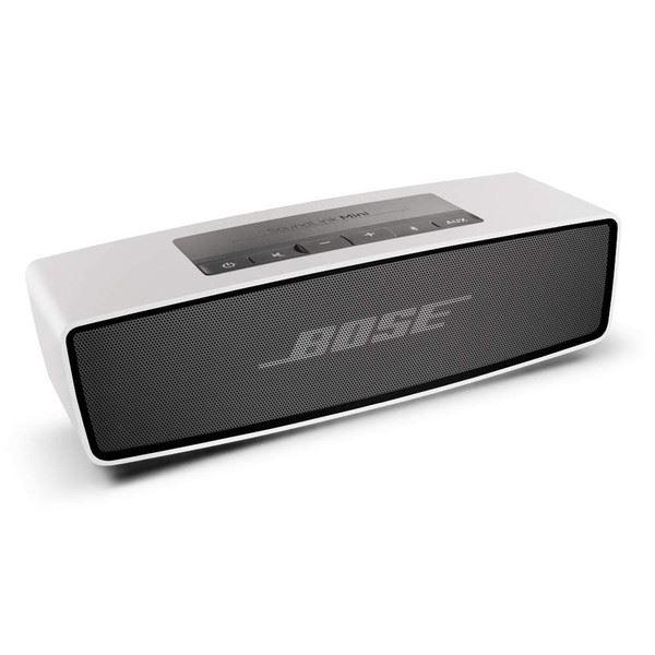 【5月1日10時〜72時間限定!エントリー&楽天カード利用で全品ポイント10倍】Bose SoundLink Mini ポータブルワイヤレススピーカー Bluetooth対応 シルバー
