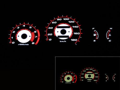 ELメーターパネル S-MX/ステップワゴン(RF 1/2)用ブラックです。