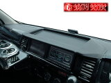 【シックスセンス】HIACE ハイエース200系ワイドボディー専用 トレイ付ナビバイザー※お取寄せ