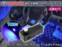 インナーランプ LED トヨタ レクサス 純正交換用 0.5W広角 フットランプ/グローブボックス/コンソールボックス SMD 青 ブルー 1個単品 crd