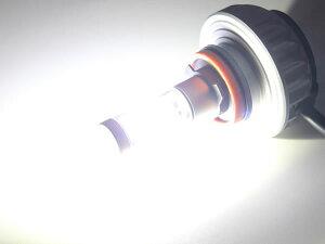 高出力LEDフォグバルブ12V/24V兼用CREEXML2素子/アルミヒートシンク搭載カラーフィルム付き10/下旬入荷予約