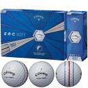 【まとめ割クーポン対象】キャロウェイゴルフ E・R・C ERC SOFT 19 TRIPLE TRACK ゴルフボール[キャロウエイ callaway クロム chome グラフェン まとめ買い ついで買い 即納 あす楽]